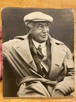 1910s-1920s Antique Photograph of Walter Camp, Father of Football (Yale) HOF