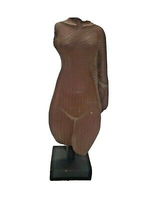 Ancient Egyptian Alva Museum Replica Torso Of Queen Nefertiti Statue 76 Repro