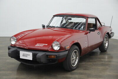 1980 Triumph Spitfire 1500 with removable hardtop 1980 Triumph Spitfire 1500 original WITH factory hardtop
