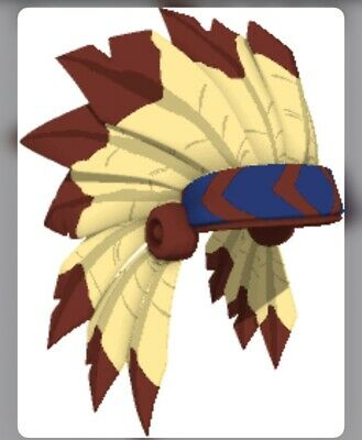 Animal Jam Ultra Rare Tan Headdress (in game item)  - TRUSTED SELLER - QUICK