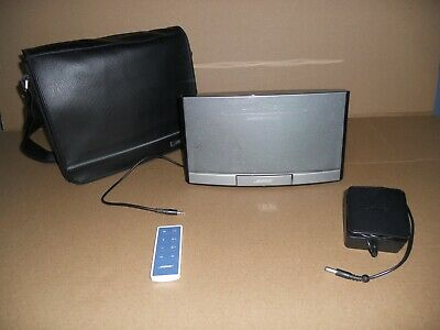 BOSE SoundDock Speaker N123 Portable Music System With Carry Sling Bag !!!