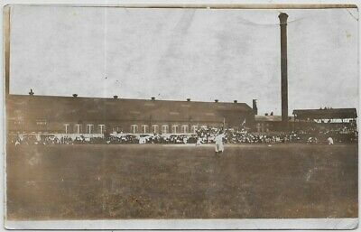 Baseball Game-Unknown Location-c1908 Real Photo a100