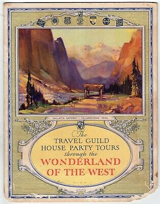 Travel Guild Tour Brochure MILW Road D&RGW Union Pacific Southern Pacific CP SOO
