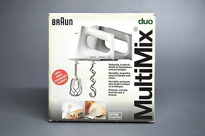 Braun Duo MultiMix, Hand Blender, Mixer - Power Plus - inc Beaters, Dough Hooks