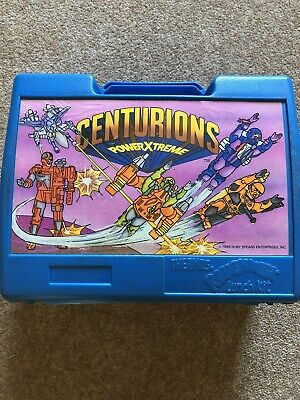 Centurions Vintage Lunchbox Thermos (like 'Transformers') 1986 Made In England