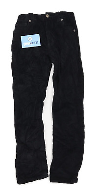 John Lewis Boys Textured Black Jeans Age 9