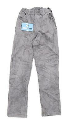 Marks & Spencer Boys Textured Grey Jeans Age 9-10