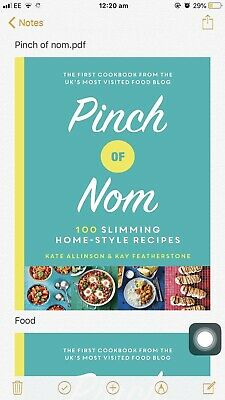 Pinch of Nom: 100 Slimming, Home-style Recipes - Pdf Book