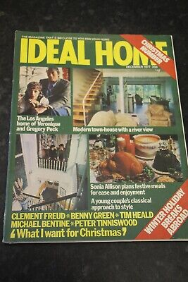 Ideal Home Magazine December 1977 Christmas Number