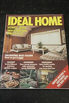 Ideal Home Magazine July/August 1975