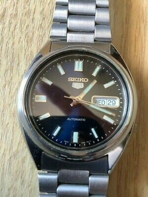 Seiko 5 Automatic Gents Watch 5 7S26-0480 F 21 Jewels In Excellent Condition