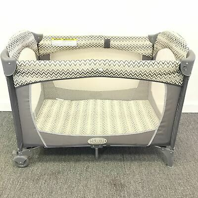 KidiWay P301 Traveller Ultra Light Baby Cot Crib Collapsible Gray