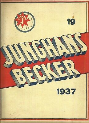 clocks catalogs (over 30 pieces) to download Junghans Becker Lenzkirch Kienzle