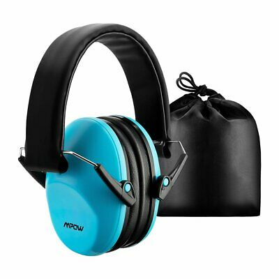 MPOW Foldable Children Kids Ear Muff Hearing Protection Noise Reduction UK Stock