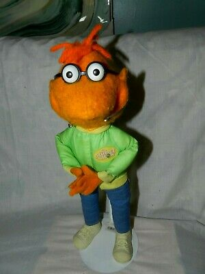 """Vintage Fisher Price 1970's Original Jim Henson Muppet Show Scooter Doll 16"""""""