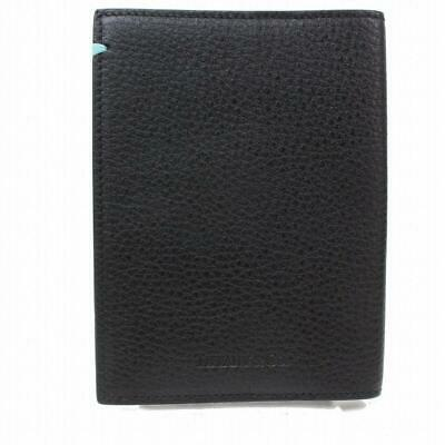 Tiffany & Co. Agenda Cover Black Leather Notebook Cover Diary Book 872763