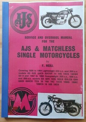 AJS & Matchless Single Motorcycles - Service and Manual