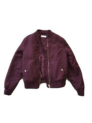 H&M Girl's Bomber Style Jacket In Age 12-13 Yrs