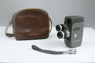 Vintage Canon CINE 8 Camera-Rare and Excellent-Runs Smooth, but not film tested.