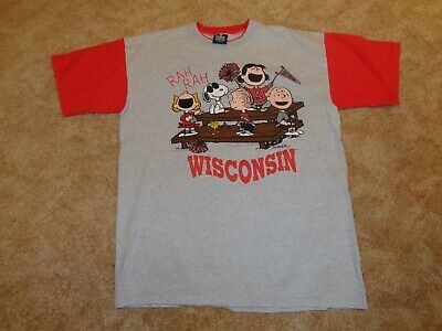Snoopy & the GANG WISCONSIN T-Shirt