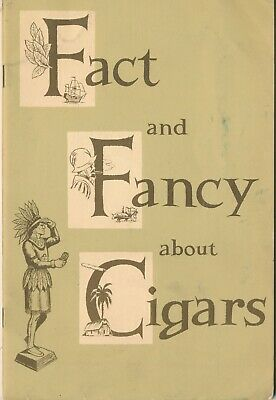 Vintage Fact and Fancy about Cigars Booklet Gold Label Tampa Fla. Factory 1 Adv.