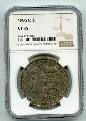 1896-O Morgan Dollar (VF 35) NGC