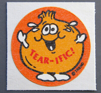 Vintage TREND Matte Scratch and Sniff Stinky Stickers - ONION