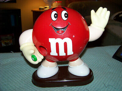 Vintage 1991 Red M&M's Character Candy Dispenser