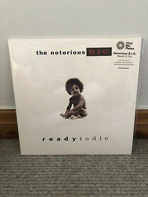 The Notorious B.I.G. - Ready To Die Vinyl Me Please VMP Limited Splatter Edition