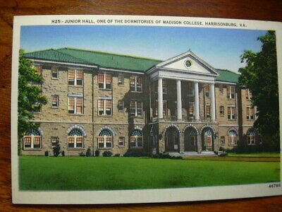 Junior Hall, Madison College, Harrisonburg, Virginia