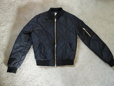 Very Girl's 9-10 Age Cropped/Short Lightly Padded Jacket/Coat In Good Condition