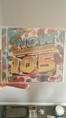 Now That's What I Call Music! 105 Brand New and Sealed. New Release!! 2CD