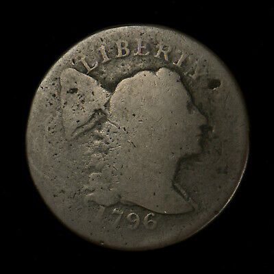 1796 LIBERTY CAP 1C LARGE CENT ** FULL DATE! EARLY AMERICAN COPPER Lot#X255