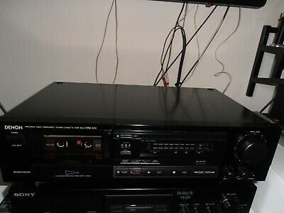 Refurbished Denon DRM-500 stereo Cassette deck Exc cond c/w instructions HX-pro