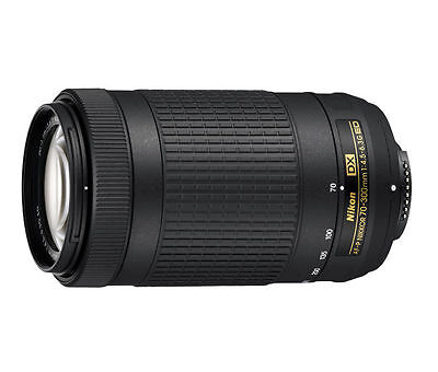 Easter Sale Nikon Af-p Dx Nikkor 70-300mm F/4.5-6.3 G Ed Lens . IN WHITE BOX