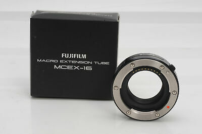 Fuji Fujifilm MCEX-16 16mm Extension Tube for X-Mount                       #823