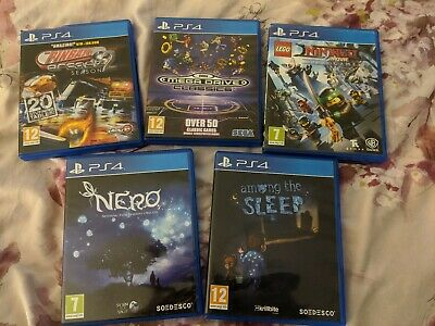 PS4 Game Bundle 5 Games Hardly used!!