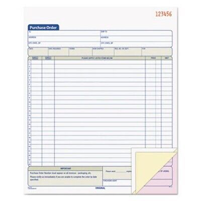 Tops Purchase Order Book, Three-Part Carbonless, 50 Sets (TOP46147)