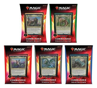 MTG Commander 2020 Decks Magic the Gathering