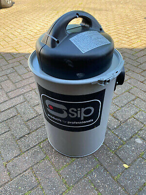 SIP 1100W Dust Extractor Collector Vacuum Cleaner Wood Chip Collector 50L