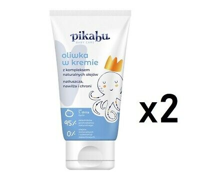PIKABU BABY CARE olive cream for infants from the very first days 2 x 100ml