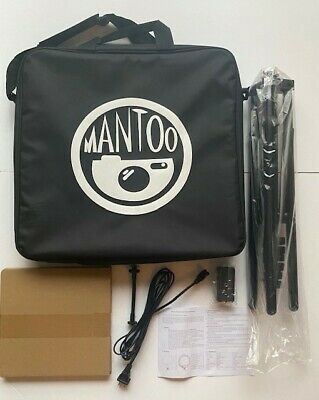 Mantoo Rl-18 Led Soft Ring Light New In Box