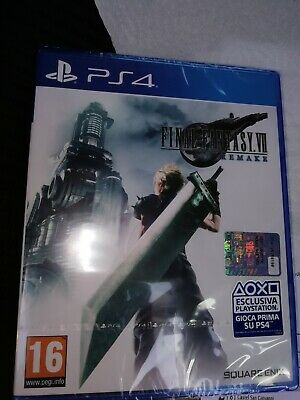 Final Fantasy Vii 7 Remake, Sony Ps4, Playstation 4, New, Nuovo