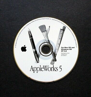 AppleWorks 5 (Version 5.0.3) for Mac OS and Windows 95