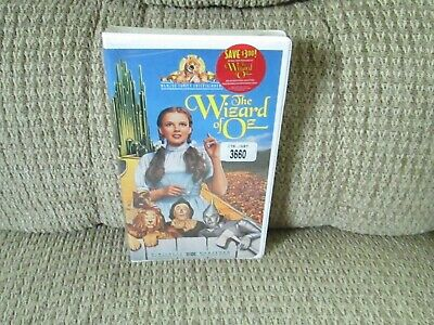 the Wizard of Oz, original MGM film new, sealed vhs