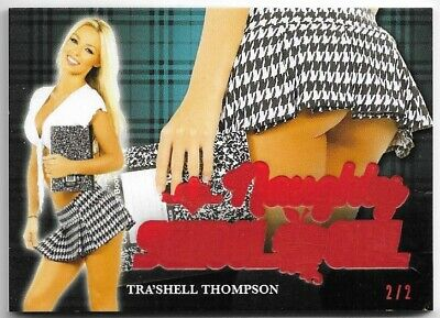 2020 Benchwarmer Hot For Teacher Tra'shell Thompson Naughty School Girl Butt /2
