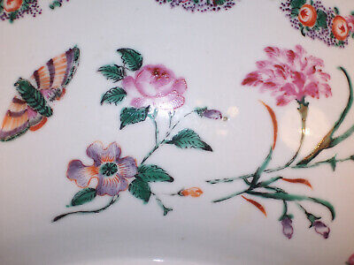 Superb Antique Chinese Export Famille Rose Porcelain Bowl Museum Worthy C.1780