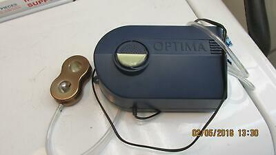 Optima Aquarium Air Pump With Adjustable Air Flow And Weight Air Block