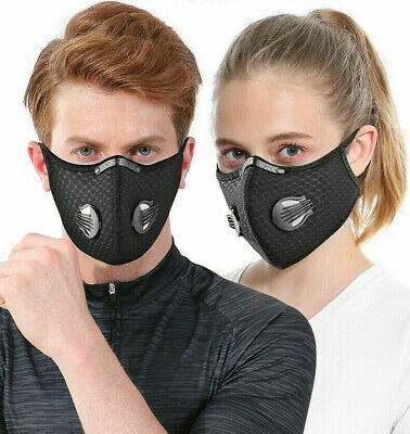 USA SELLER Cycling Air Purifying Face Mask Face Cover Haze Fog Mouth Protect