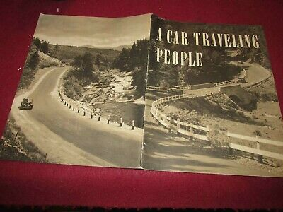 """1946 """"A Car Traveling People"""" by Franklin Reck: Issued by the A.M.A. MANY Pics!"""